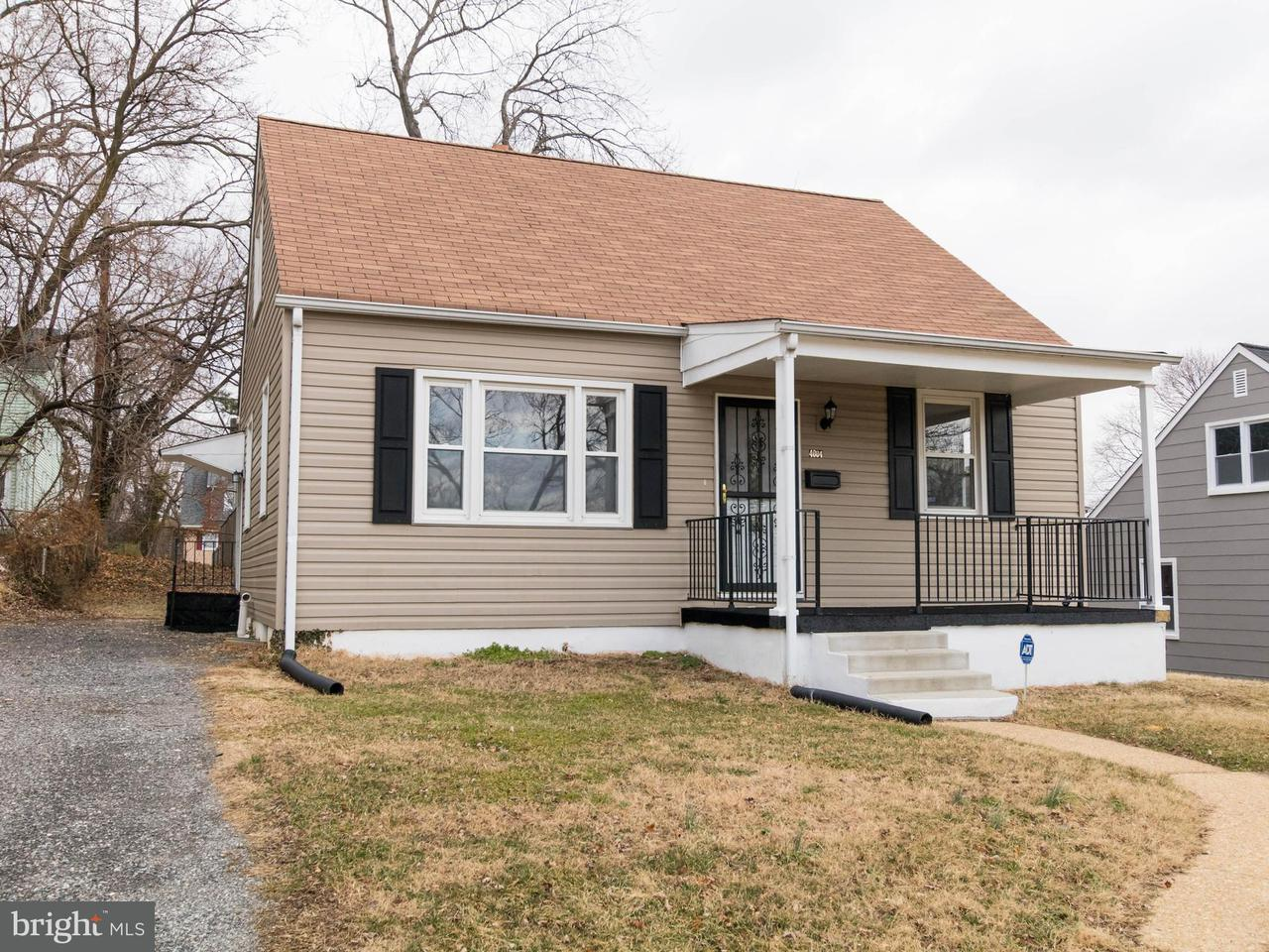 Single Family for Sale at 4004 Wilke Ave Baltimore, Maryland 21206 United States
