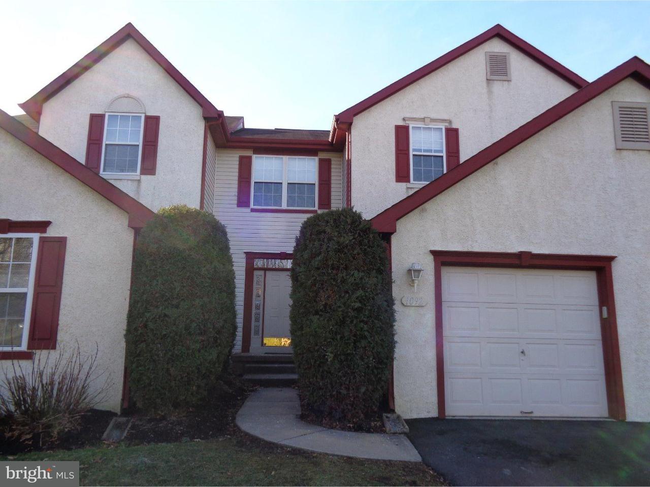 联栋屋 为 出租 在 1092 CHANTICLEER Cherry Hill, 新泽西州 08003 美国