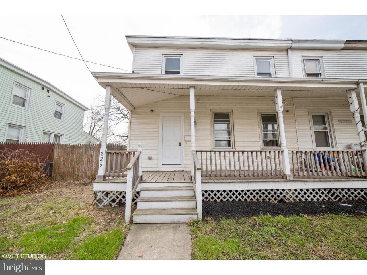 Maison accolée pour l Vente à 826 W FRONT Street Florence, New Jersey 08518 États-Unis