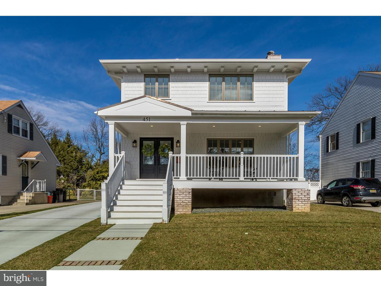 Maison unifamiliale pour l Vente à 451 E MELROSE Avenue Haddon Township, New Jersey 08108 États-Unis