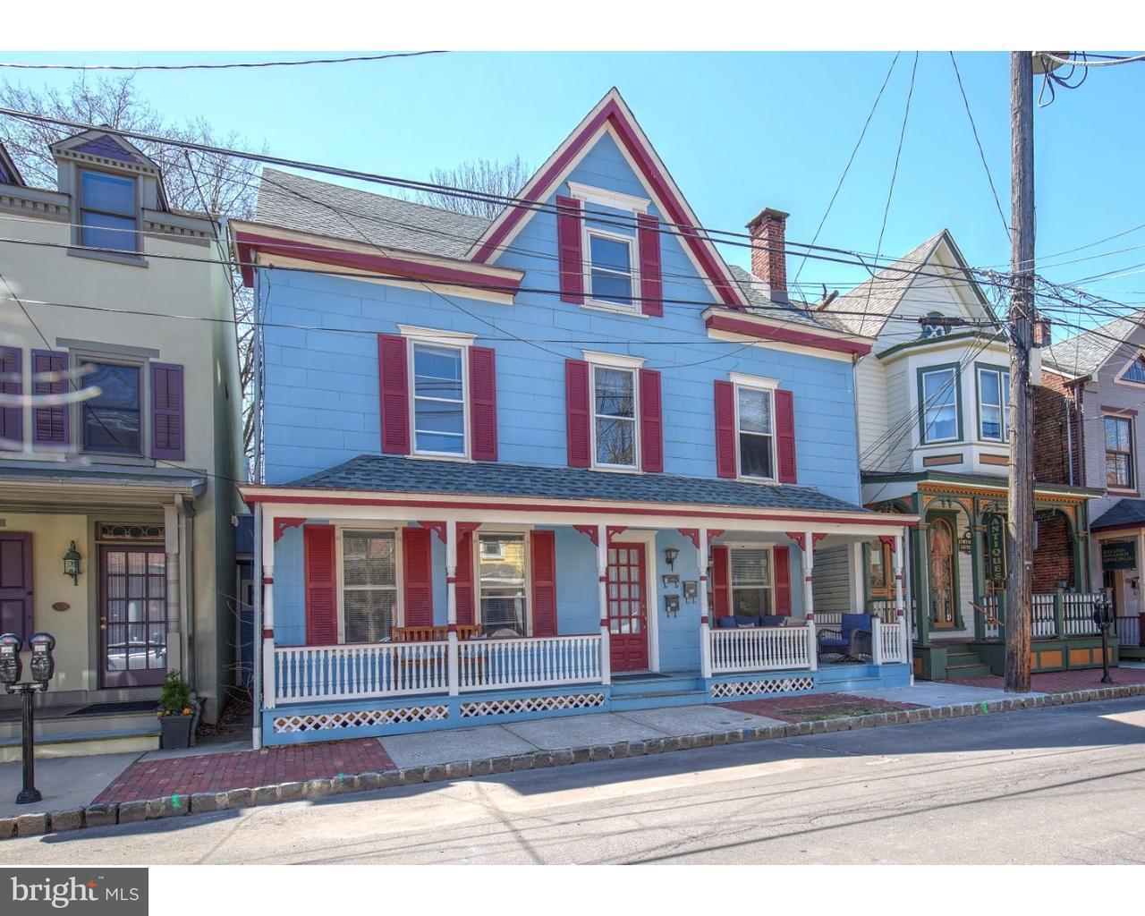 Single Family Home for Sale at 53-55 CORYELL Street Lambertville, New Jersey 08530 United StatesMunicipality: Lambertville