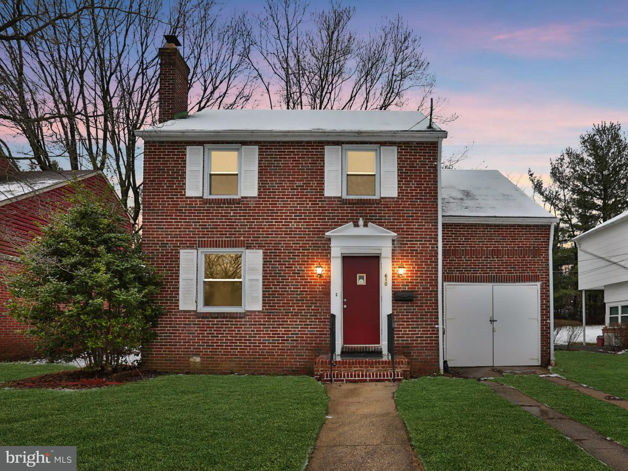 Single Family for Sale at 610 Warwick Rd Baltimore, Maryland 21229 United States