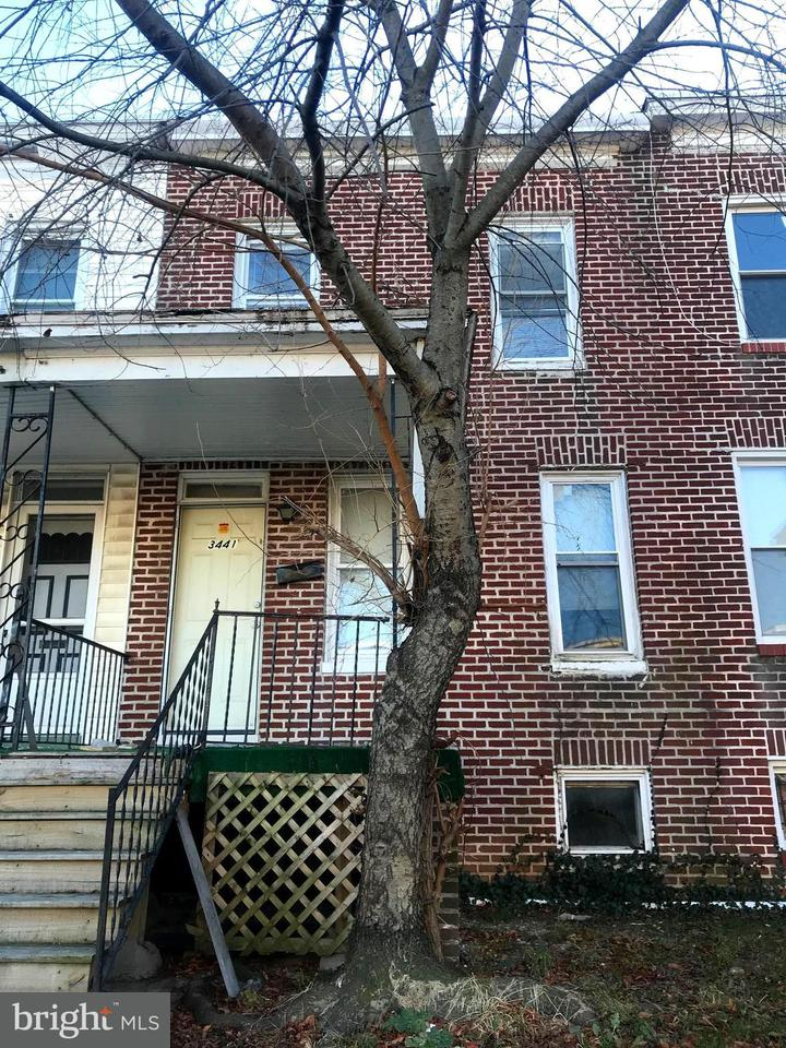 Single Family for Sale at 3441 Elmora Ave Baltimore, Maryland 21213 United States