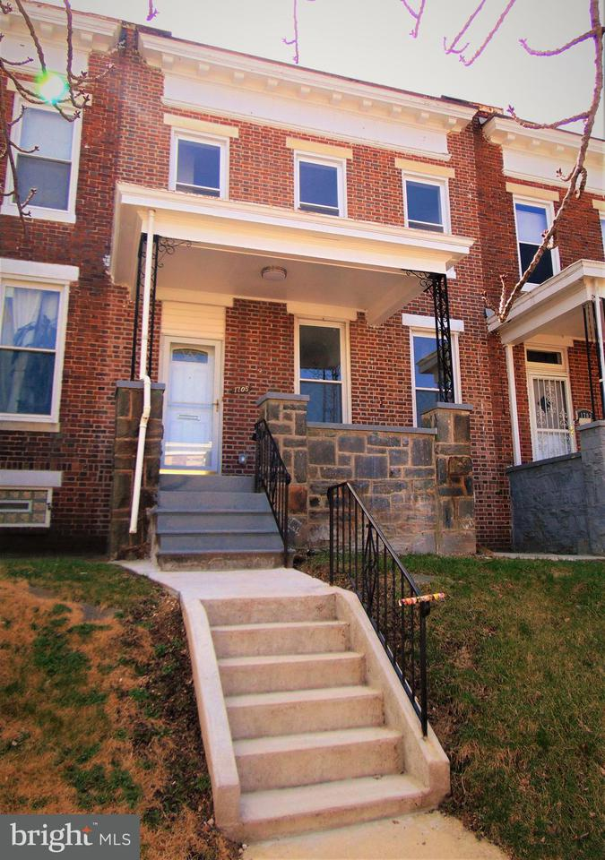 Single Family for Sale at 1705 Chilton St Baltimore, Maryland 21218 United States