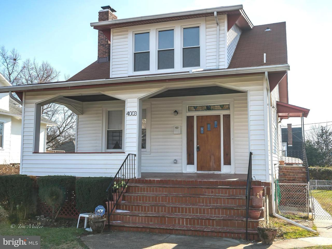 Single Family for Sale at 4003 Chatham Rd Baltimore, Maryland 21207 United States