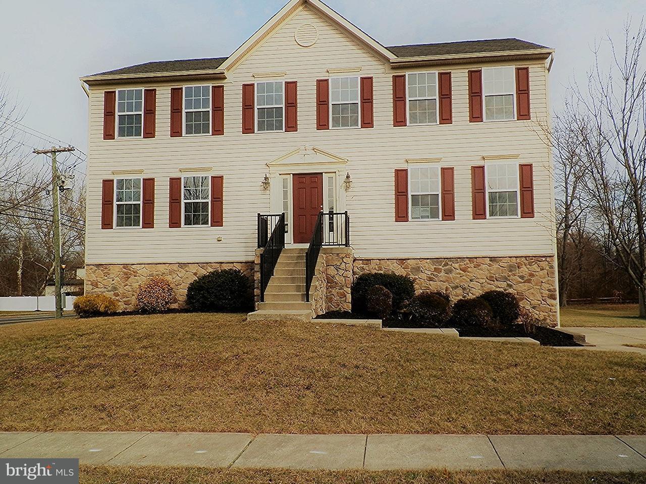 Maison unifamiliale pour l Vente à 1 HINKLE WAY Delanco, New Jersey 08075 États-Unis