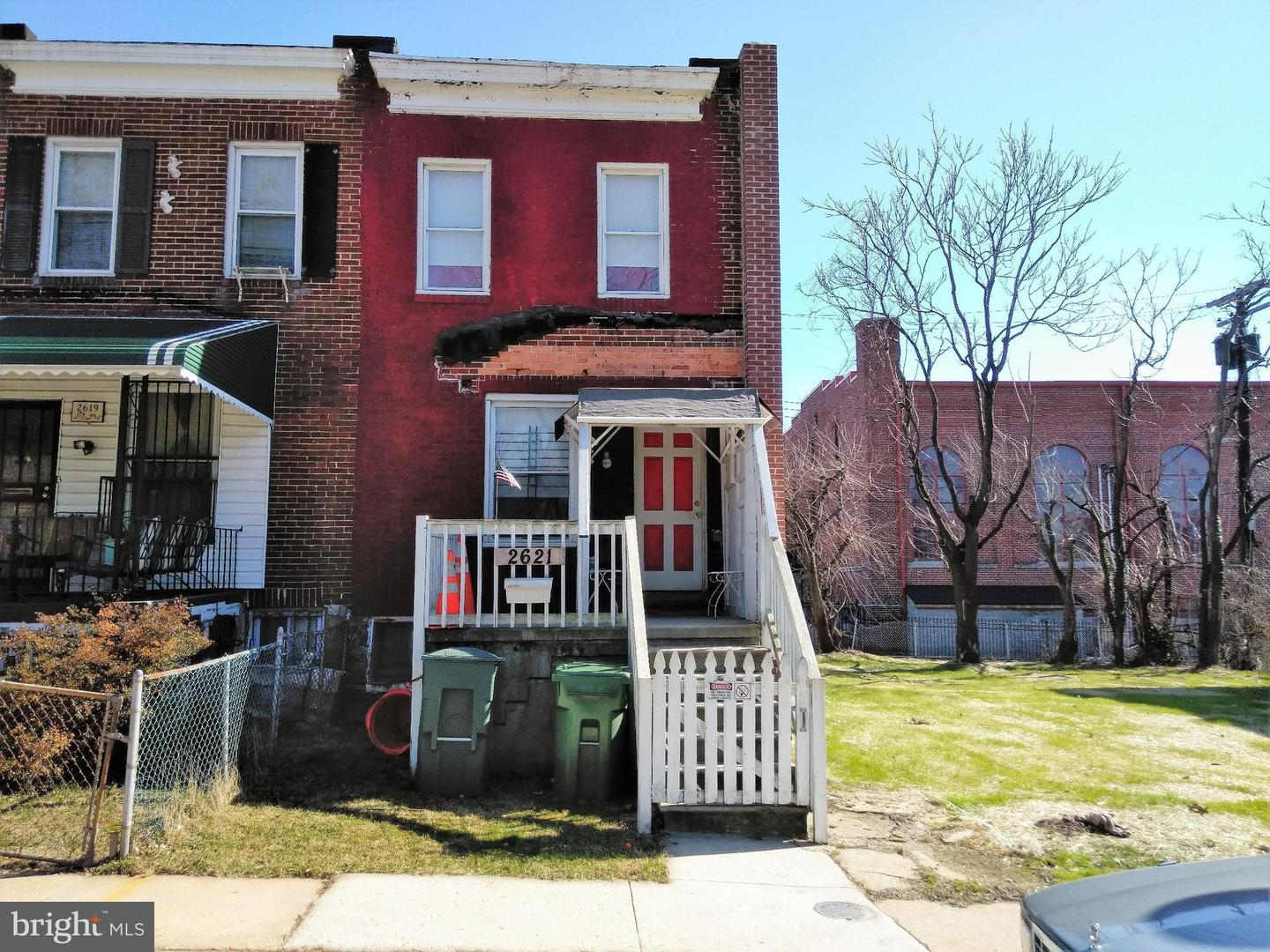 Single Family for Sale at 2621 Rosewood Ave Baltimore, Maryland 21215 United States