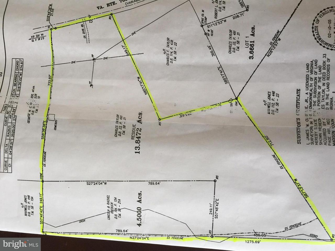 Land for Sale at Twymans Mill Rd Madison, Virginia 22719 United States