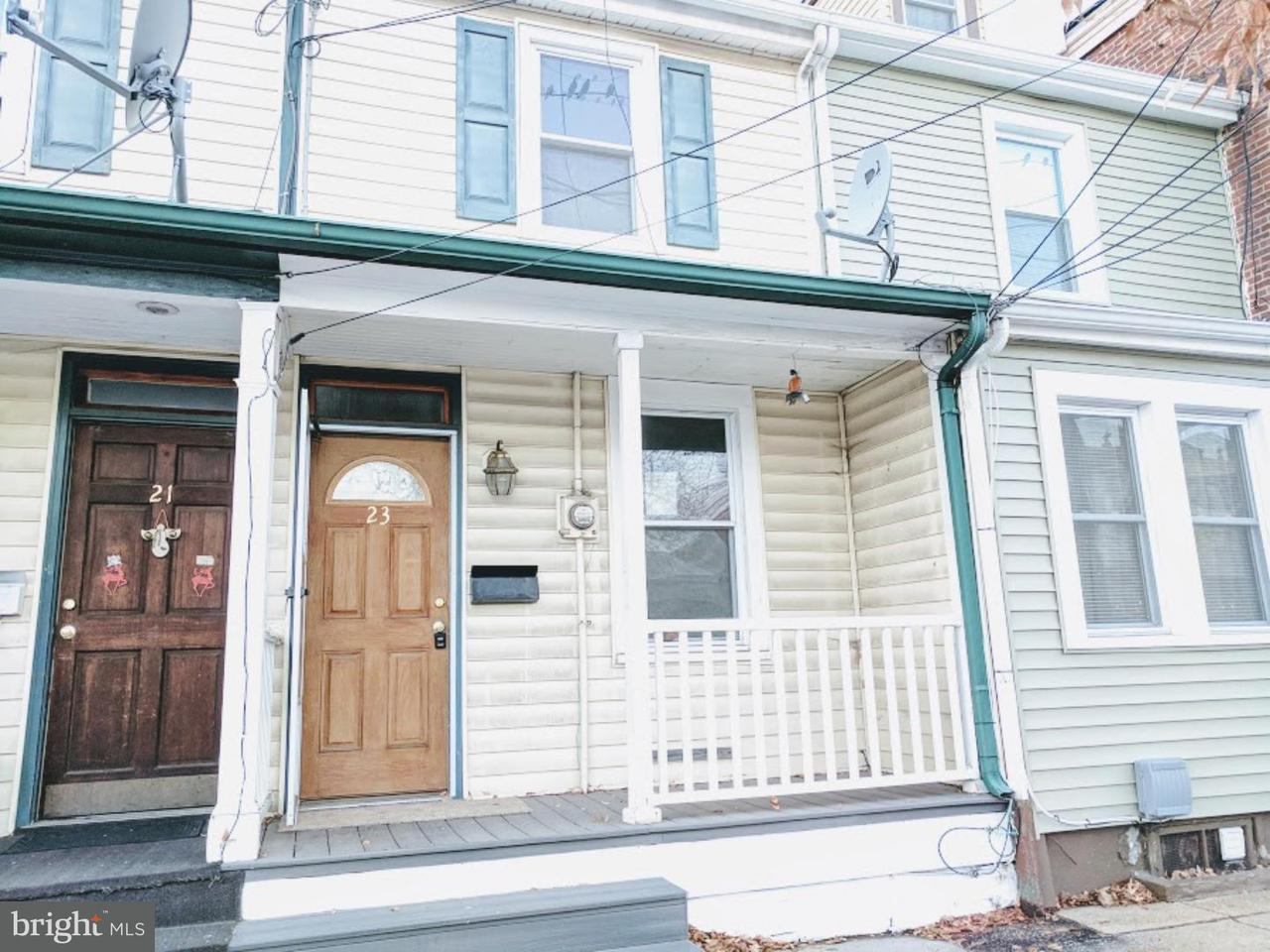 Townhouse for Rent at 23 N BURLINGTON Street Gloucester City, New Jersey 08030 United States