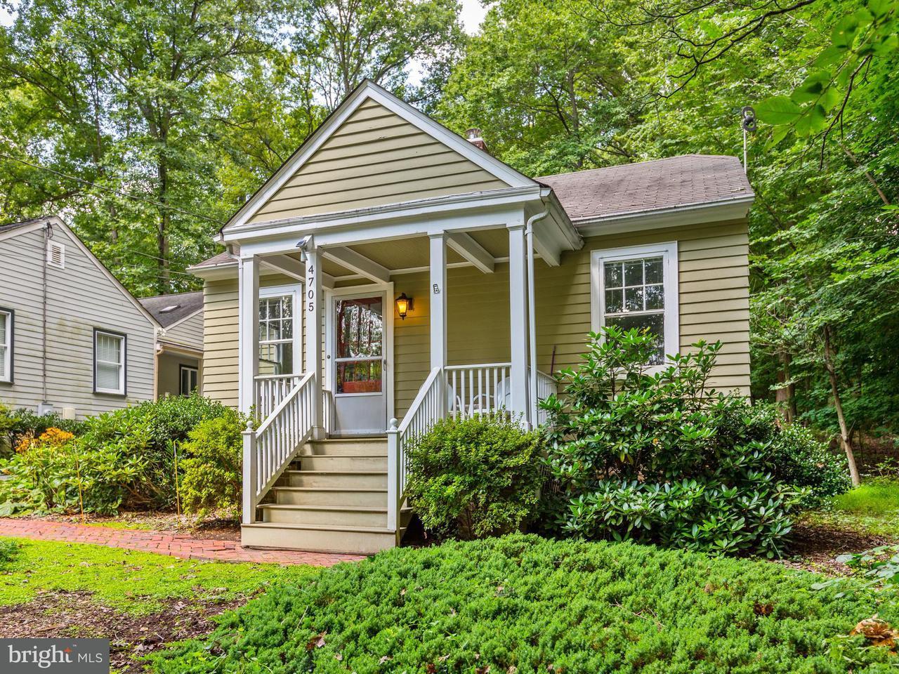 Einfamilienhaus für Verkauf beim 4705 Argyle Avenue 4705 Argyle Avenue Garrett Park, Maryland 20896 Vereinigte Staaten