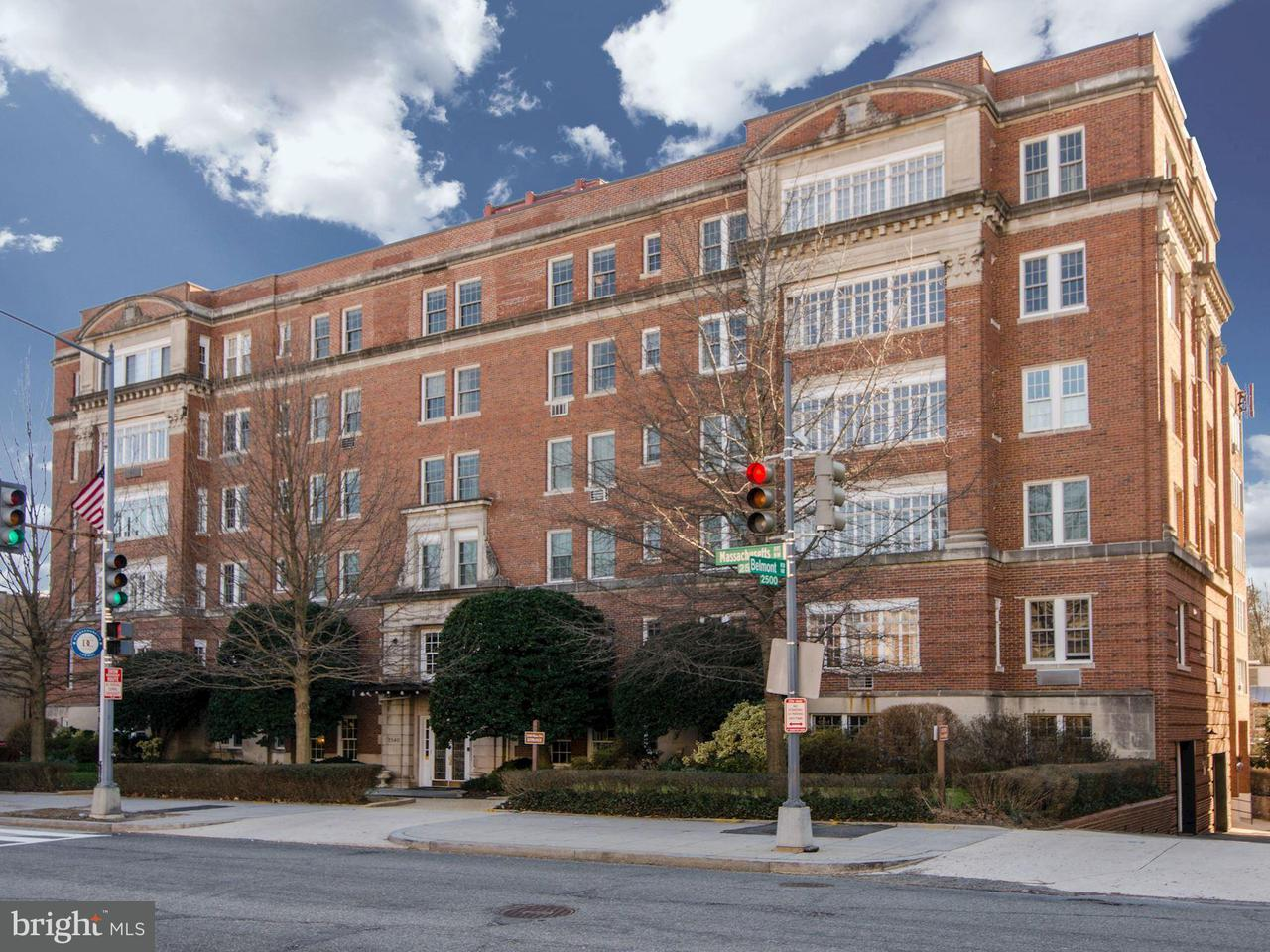 Condominium for Sale at 2540 Massachusetts Ave NW ##207 Washington, District Of Columbia 20008 United States