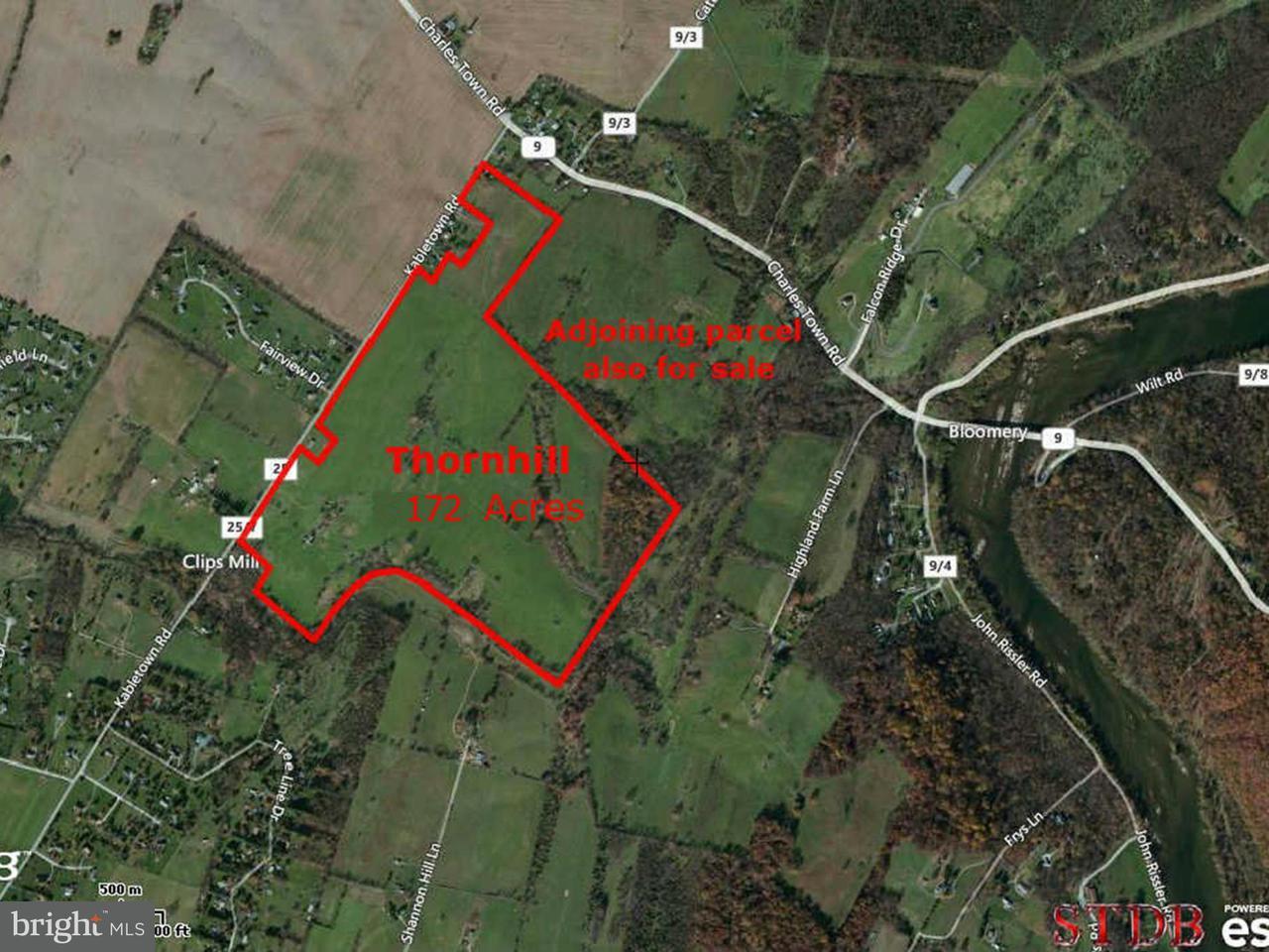 Terrain pour l Vente à Kabletown Road Kabletown Road Charles Town, Virginie-Occidentale 25414 États-Unis