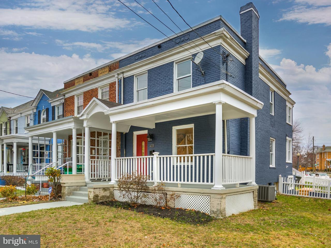 Single Family for Sale at 401 Missouri Ave NW Washington, District Of Columbia 20011 United States
