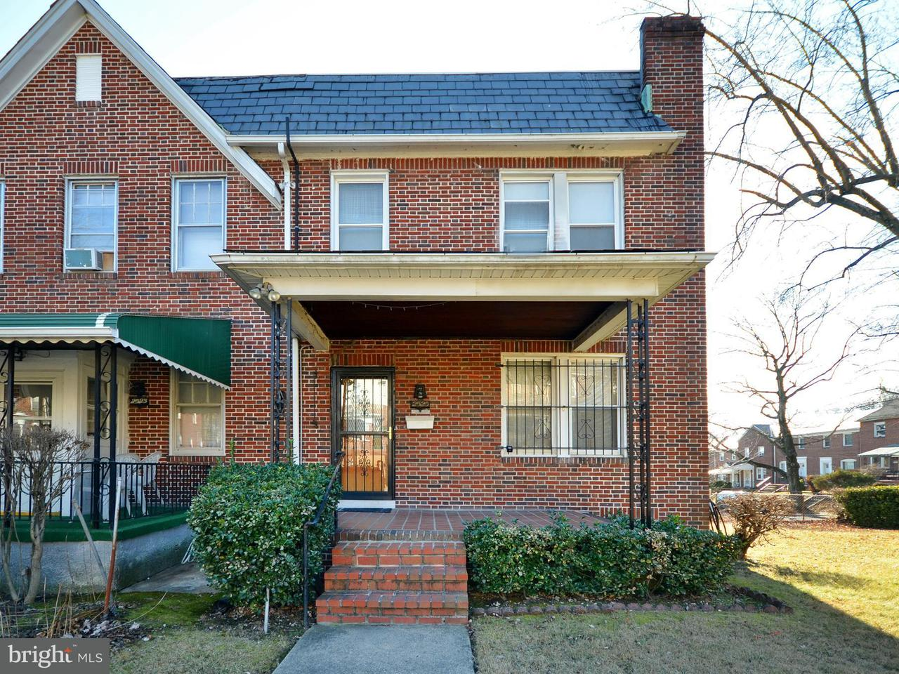 Single Family for Sale at 2525 Forest Park Ave Baltimore, Maryland 21215 United States