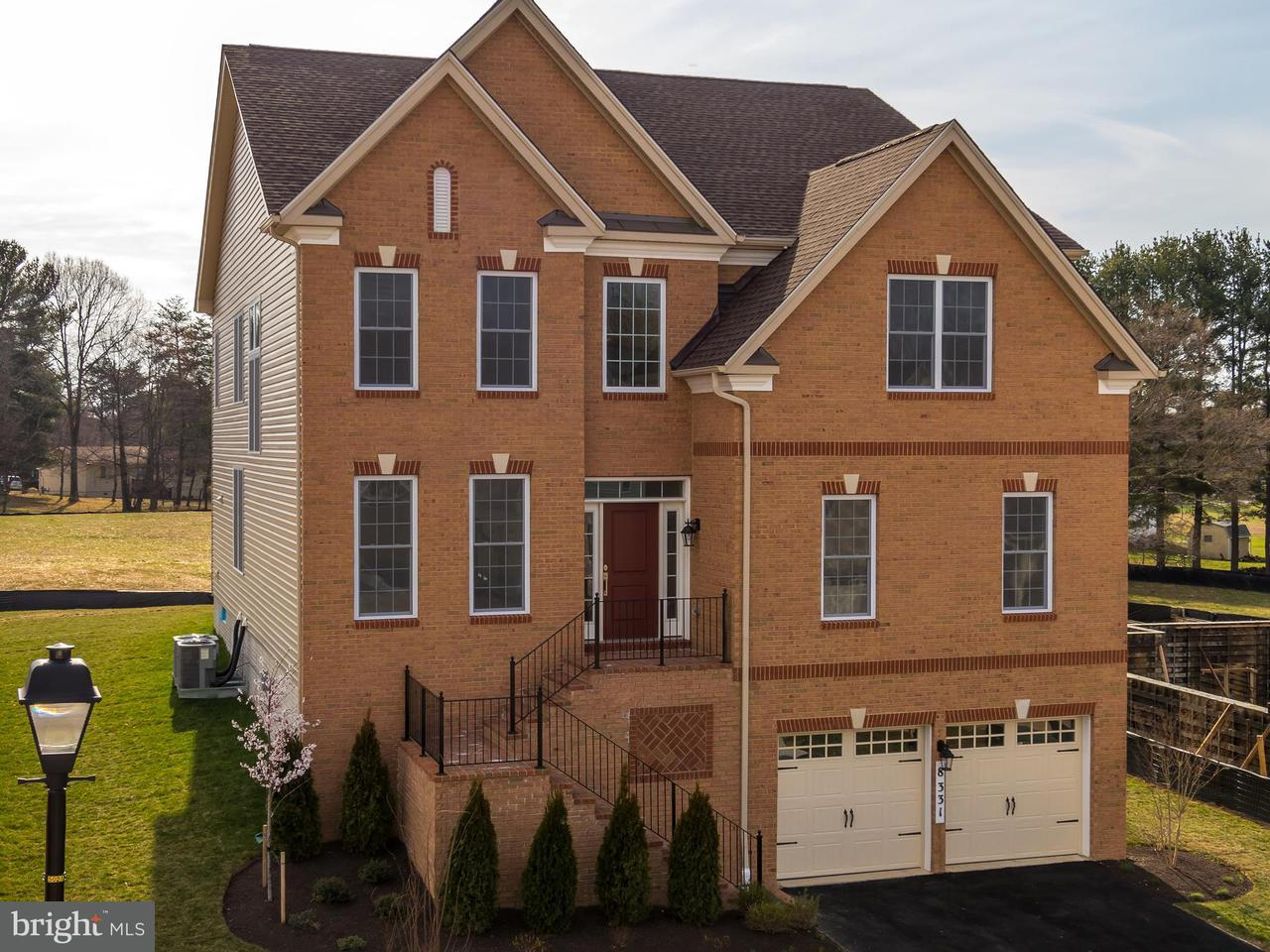 Single Family Home for Sale at 8331 Canyon Oak Drive 8331 Canyon Oak Drive Severn, Maryland 21144 United States