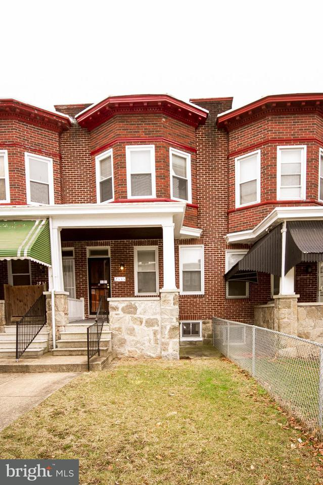 Single Family for Sale at 2535 Lafayette Ave Baltimore, Maryland 21216 United States