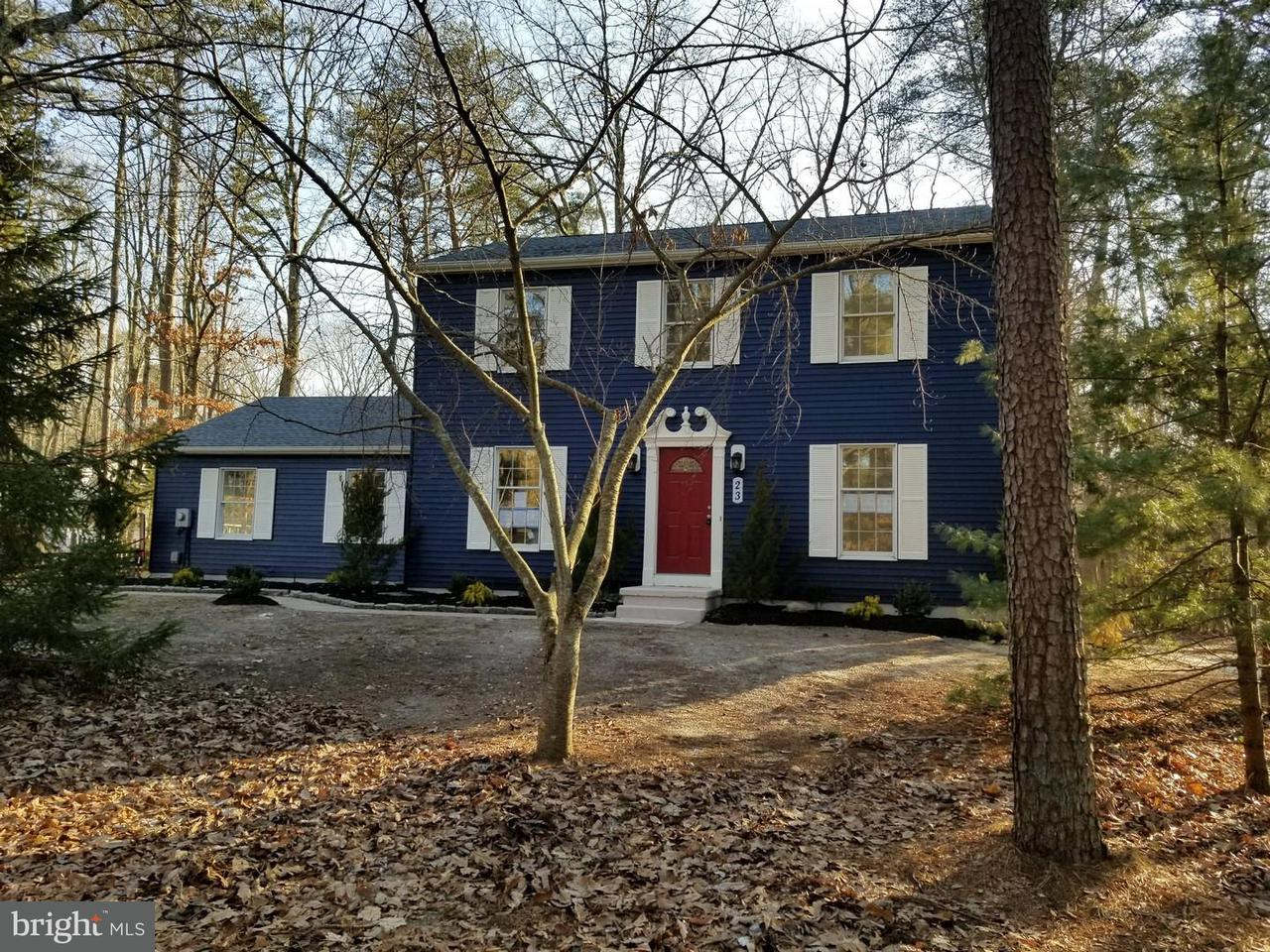 Single Family Home for Sale at 23 WALTHAM Drive Tabernacle Twp, New Jersey 08088 United States