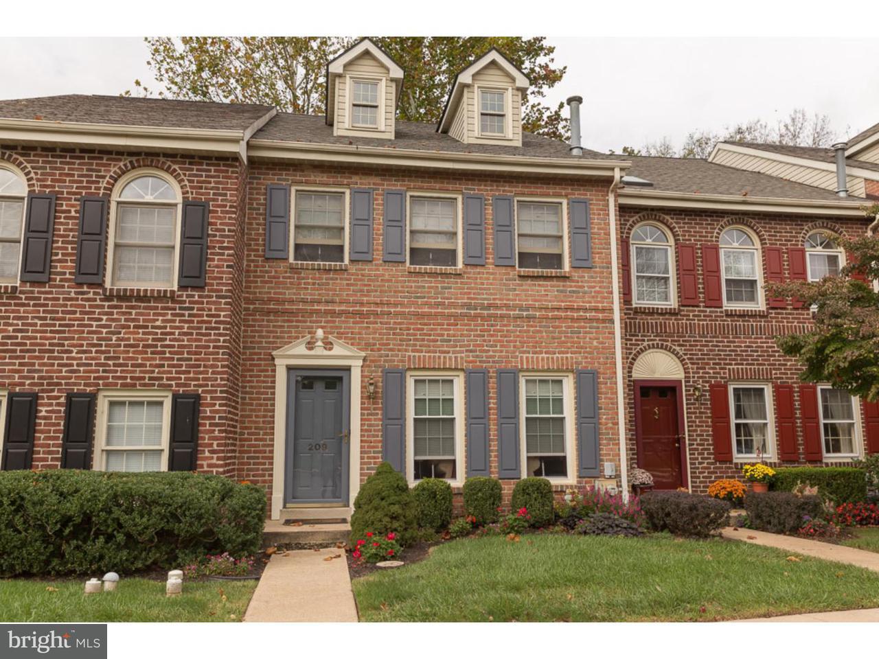 Maison accolée pour l à louer à 209 GEORGETOWN Court Royersford, Pennsylvanie 19468 États-Unis