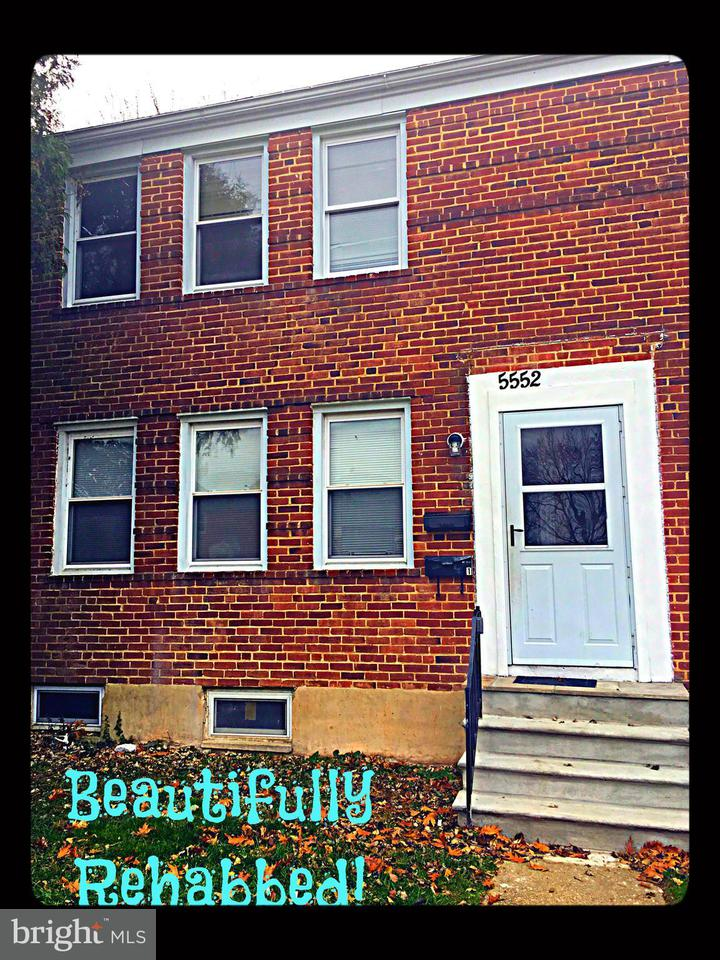 Other Residential for Rent at 5552 Midwood Ave Baltimore, Maryland 21212 United States