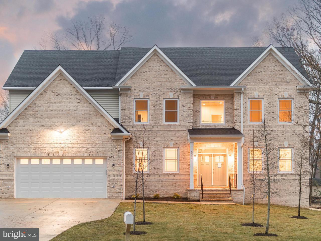 Maison unifamiliale pour l Vente à 8317 Rolling Road 8317 Rolling Road Springfield, Virginia 22153 États-Unis