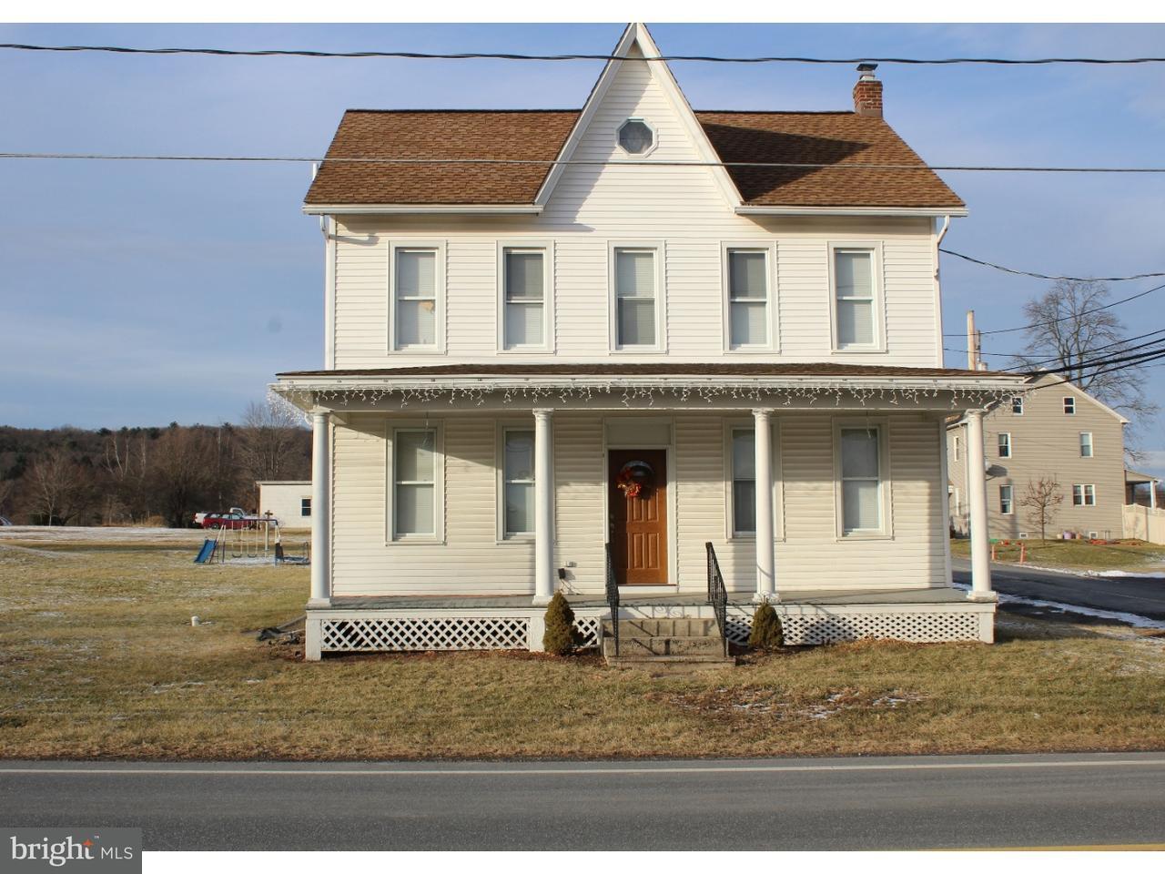 Casa Unifamiliar por un Venta en 1751 CHESTNUT Road New Ringgold, Pennsylvania 17960 Estados Unidos