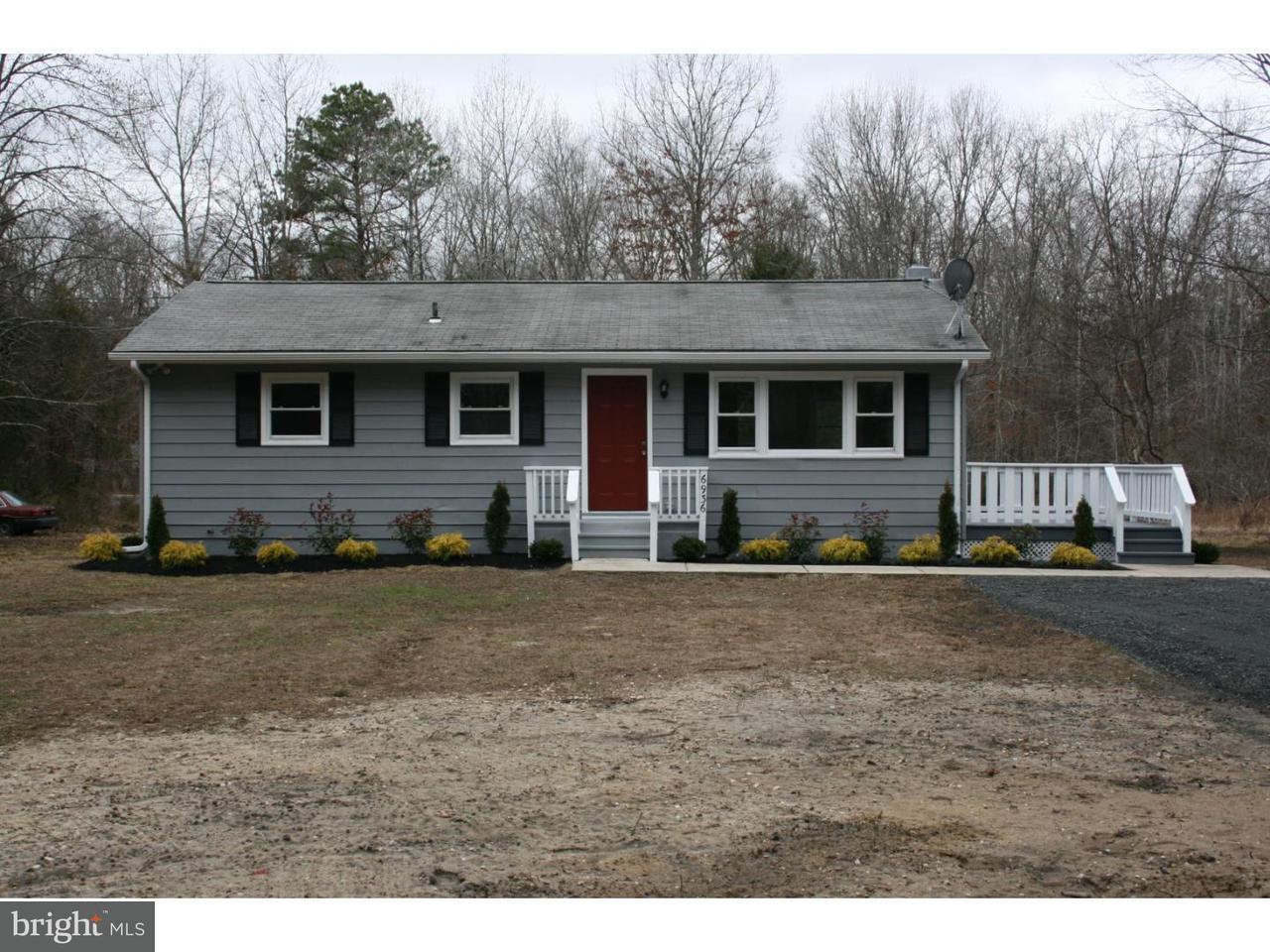 Casa Unifamiliar por un Venta en 6936 CASALE BLVD Mizpah, Nueva Jersey 08330 Estados UnidosEn/Alrededor: Hamilton Township