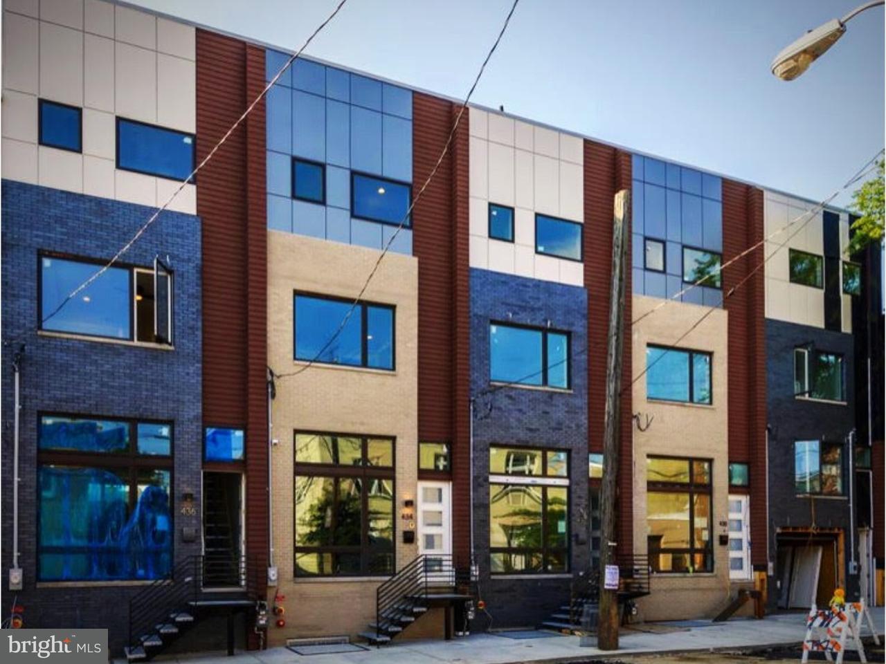 Townhouse for Rent at 428-34 E WILDEY Street Philadelphia, Pennsylvania 19125 United States
