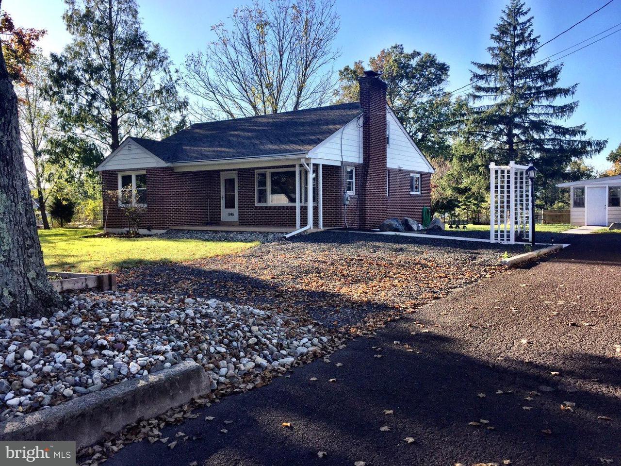 Частный односемейный дом для того Продажа на 1995 E CHERRY Lane Souderton, Пенсильвания 18964 Соединенные Штаты
