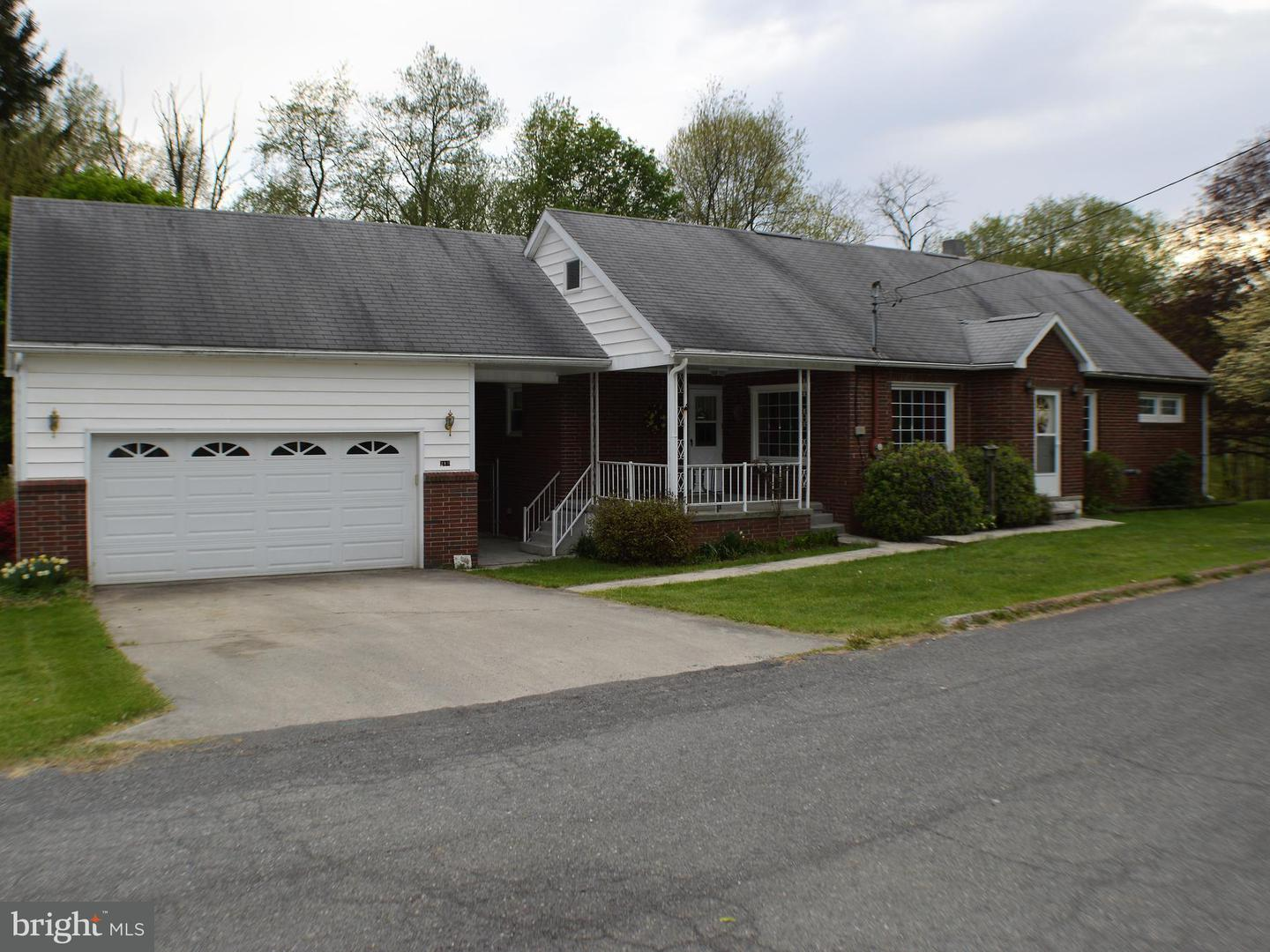 Single Family for Sale at 219 Central Ave Westernport, Maryland 21562 United States