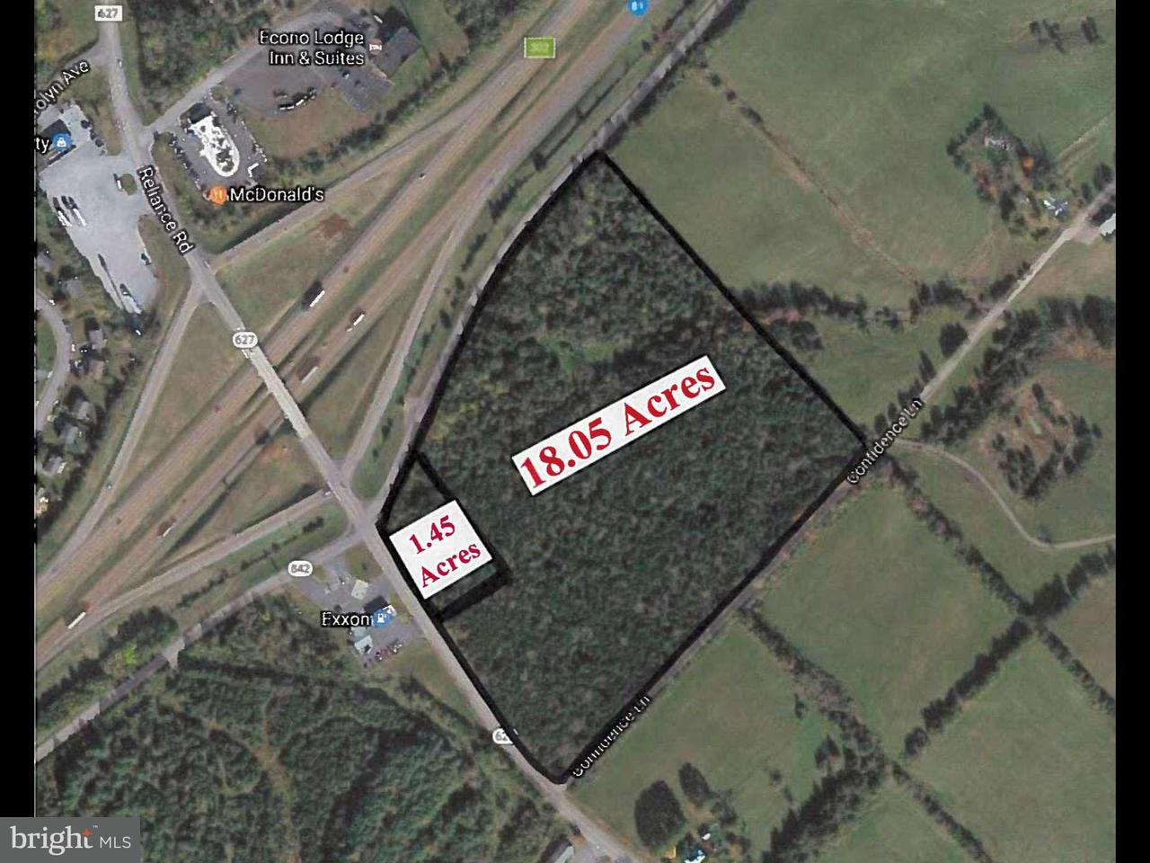 Land for Sale at Reliance Road Reliance Road Middletown, Virginia 22645 United States
