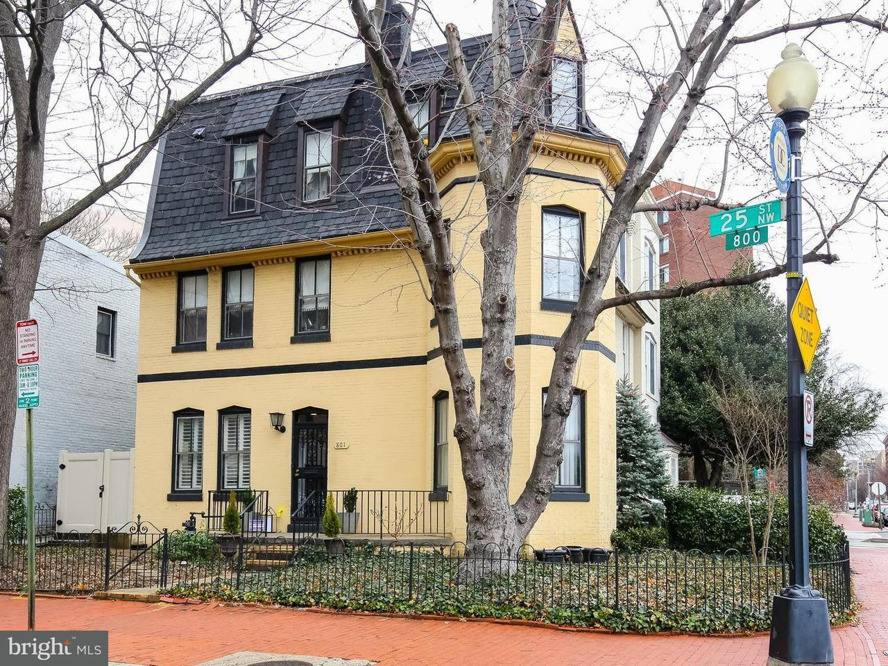 Single Family for Sale at 801 25th St NW Washington, District Of Columbia 20037 United States