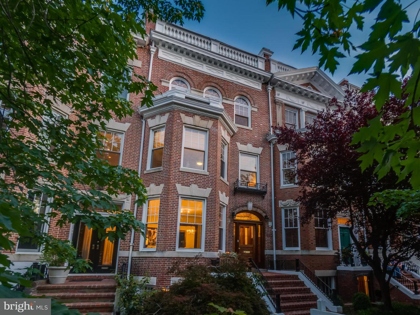 Single Family for Sale at 1852 Kalorama Rd NW Washington, District Of Columbia 20009 United States