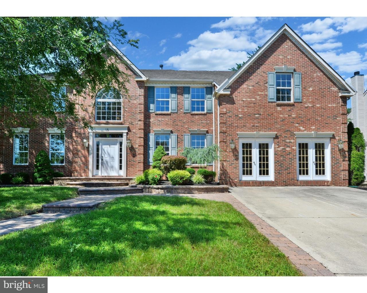 Maison unifamiliale pour l Vente à 15 BANCROFT Lane Hainesport, New Jersey 08036 États-Unis