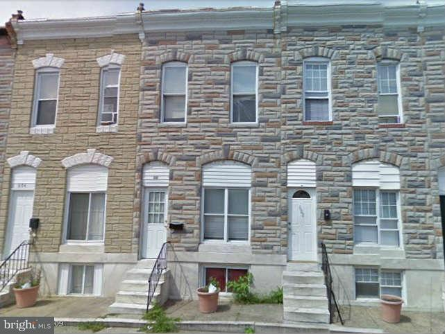 Single Family for Sale at 606 Luzerne Ave Baltimore, Maryland 21205 United States