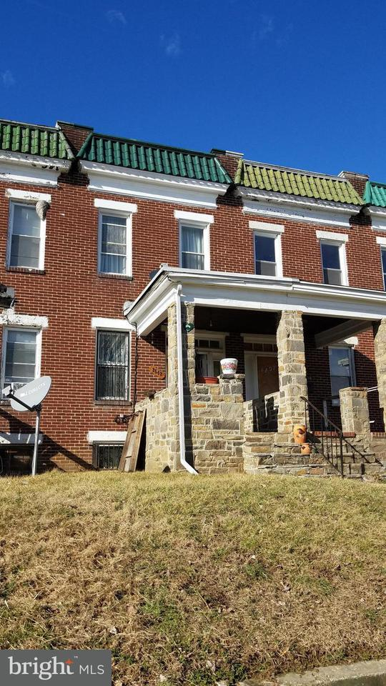 Single Family for Sale at 2542 Oswego Ave Baltimore, Maryland 21215 United States