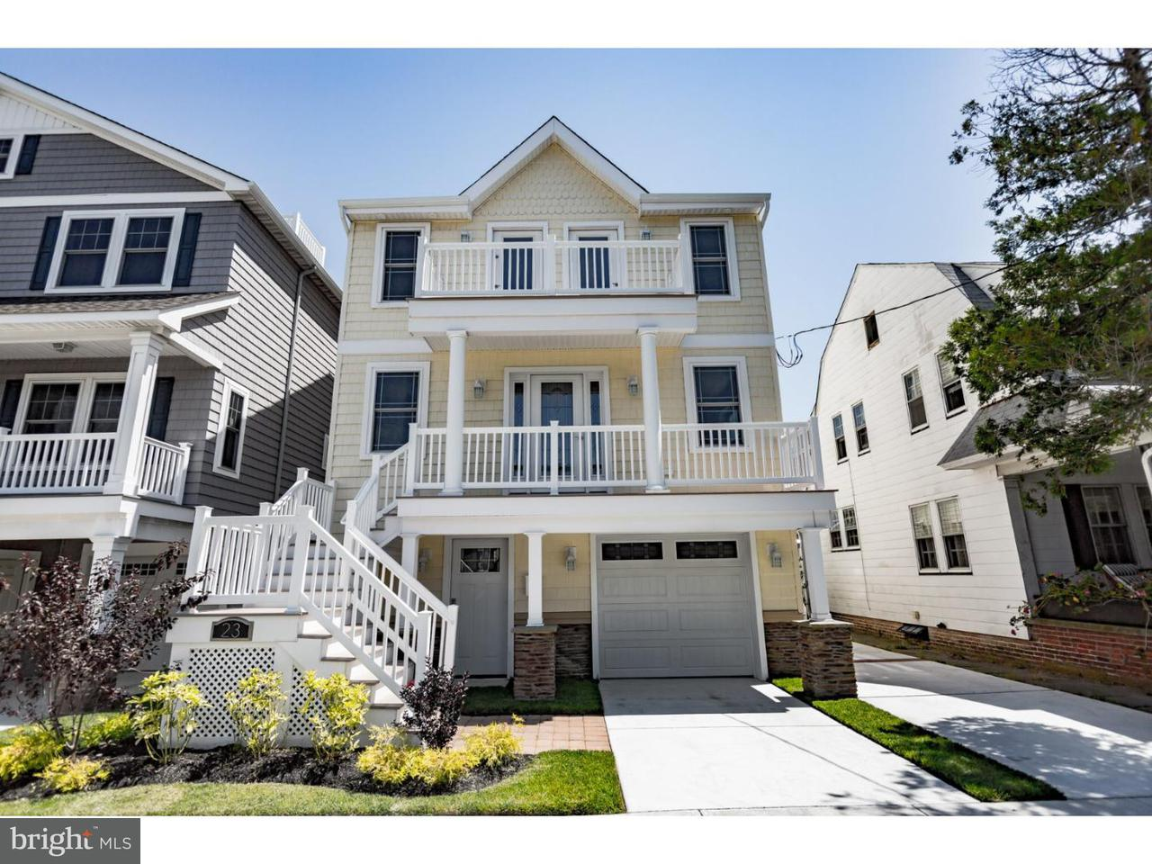 Single Family Home for Sale at 23 N CORNWALL Avenue Ventnor City, New Jersey 08406 United States