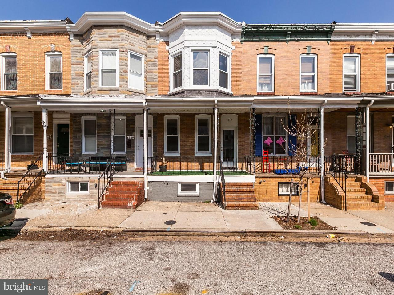 Other Residential for Rent at 1218 Cleveland St Baltimore, Maryland 21230 United States