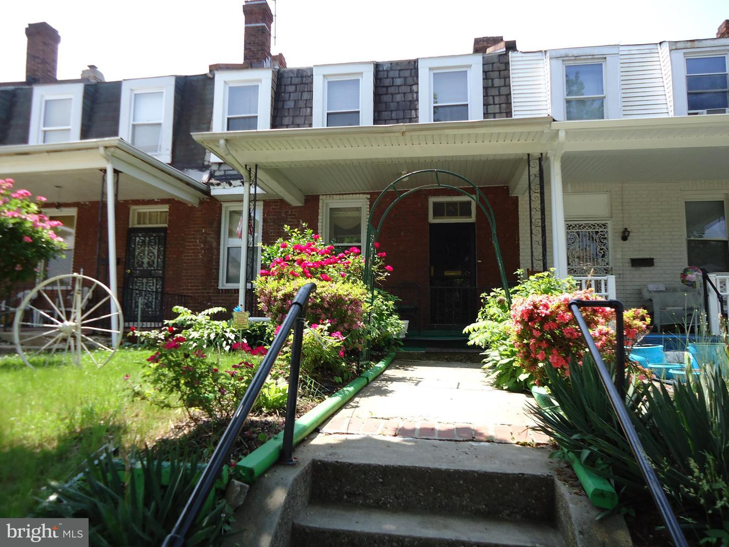 Single Family for Sale at 3607 Liberty Heights Ave Baltimore, Maryland 21215 United States