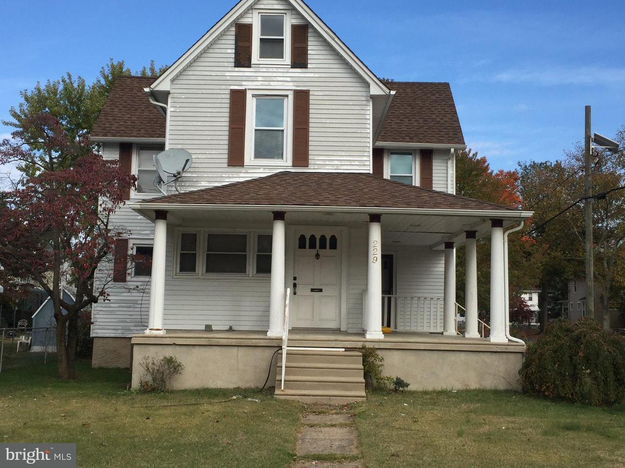 独户住宅 为 出租 在 229 CLEVELAND Avenue Riverside, 新泽西州 08075 美国