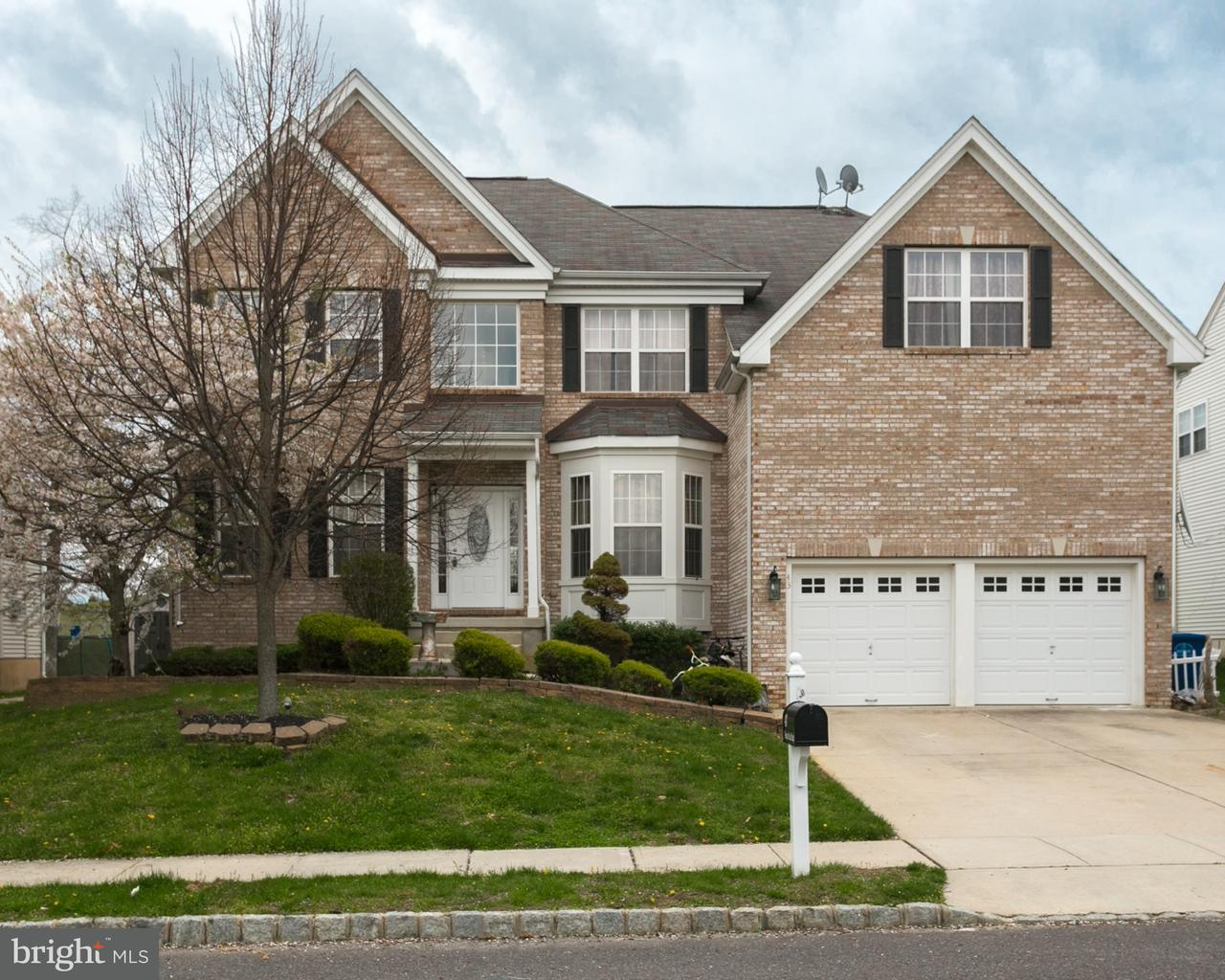 Single Family Home for Sale at 43 MEADOW RUN Road Bordentown, New Jersey 08505 United States