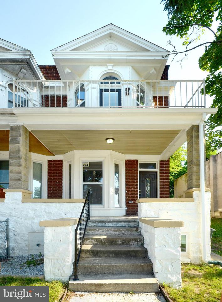 Single Family for Sale at 3410 Mondawmin Ave Baltimore, Maryland 21216 United States