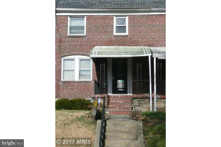 Single Family for Sale at 3304 Leighton Ave Baltimore, Maryland 21215 United States