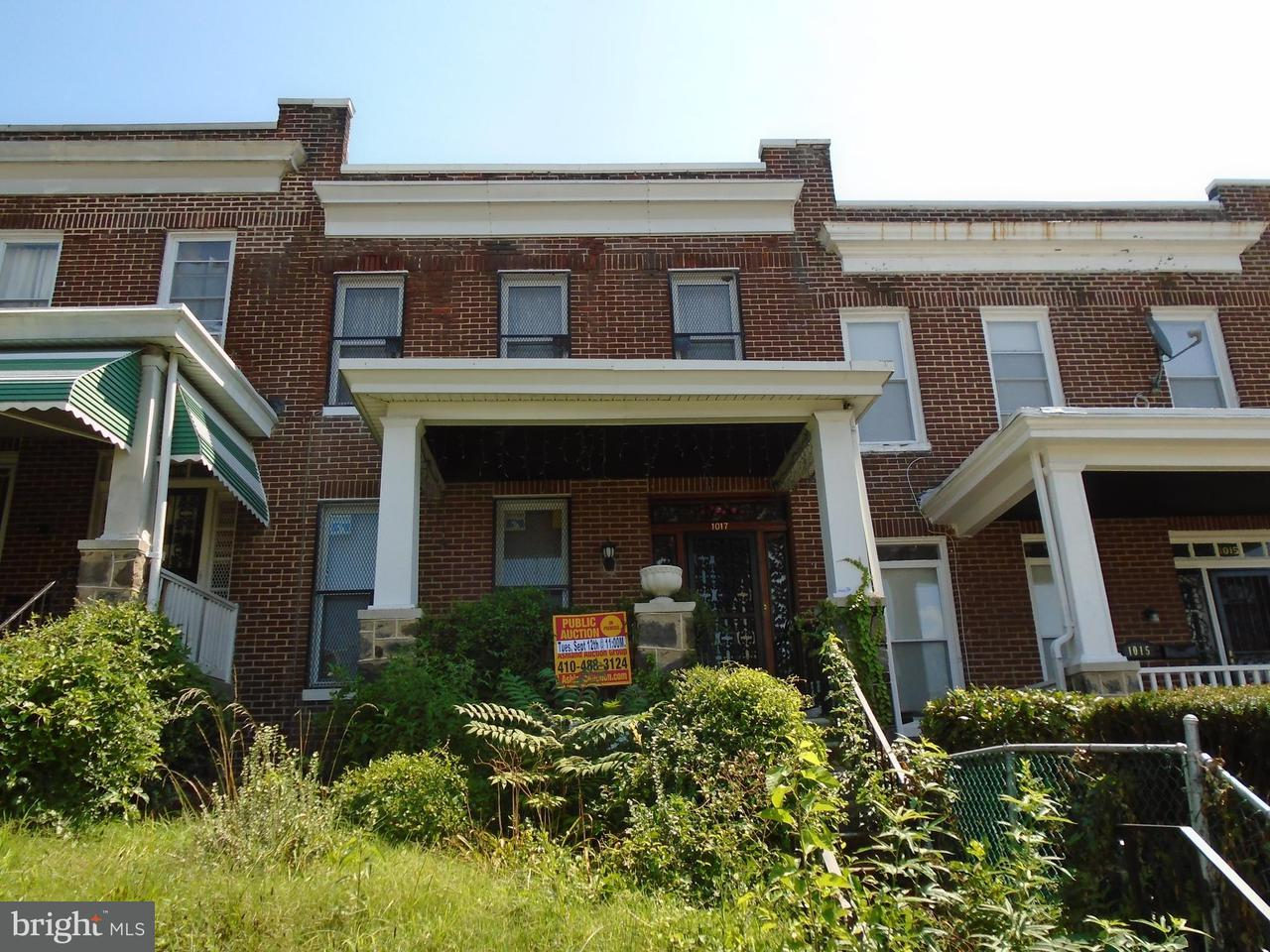 Photo of home for sale at 1017 Rosedale Street N, Baltimore MD