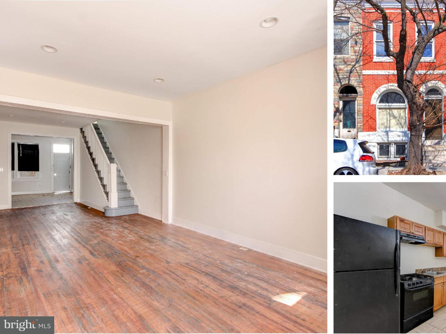 Other Residential for Rent at 1804 Lafayette Ave Baltimore, Maryland 21213 United States