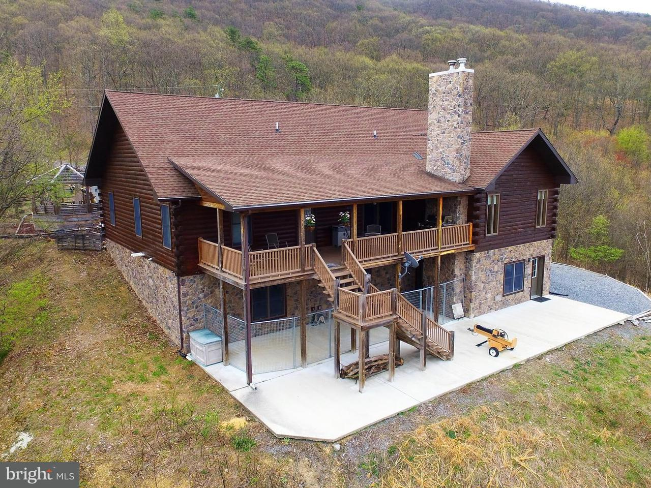 단독 가정 주택 용 매매 에 684 Scarlet Oak Drive 684 Scarlet Oak Drive Moorefield, 웨스트버지니아 26836 미국