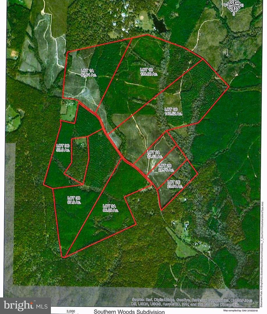 Land for Sale at Lot 1c Eleys Ford Rd Richardsville, Virginia 22736 United States