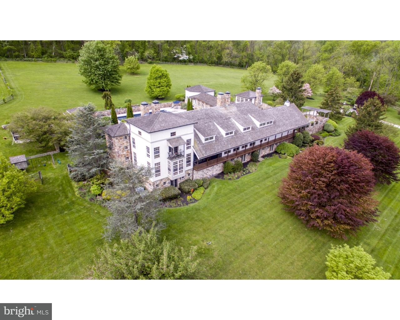 独户住宅 为 销售 在 1400 PRIZER Road 切斯特斯普林斯, 宾夕法尼亚州 19465 美国