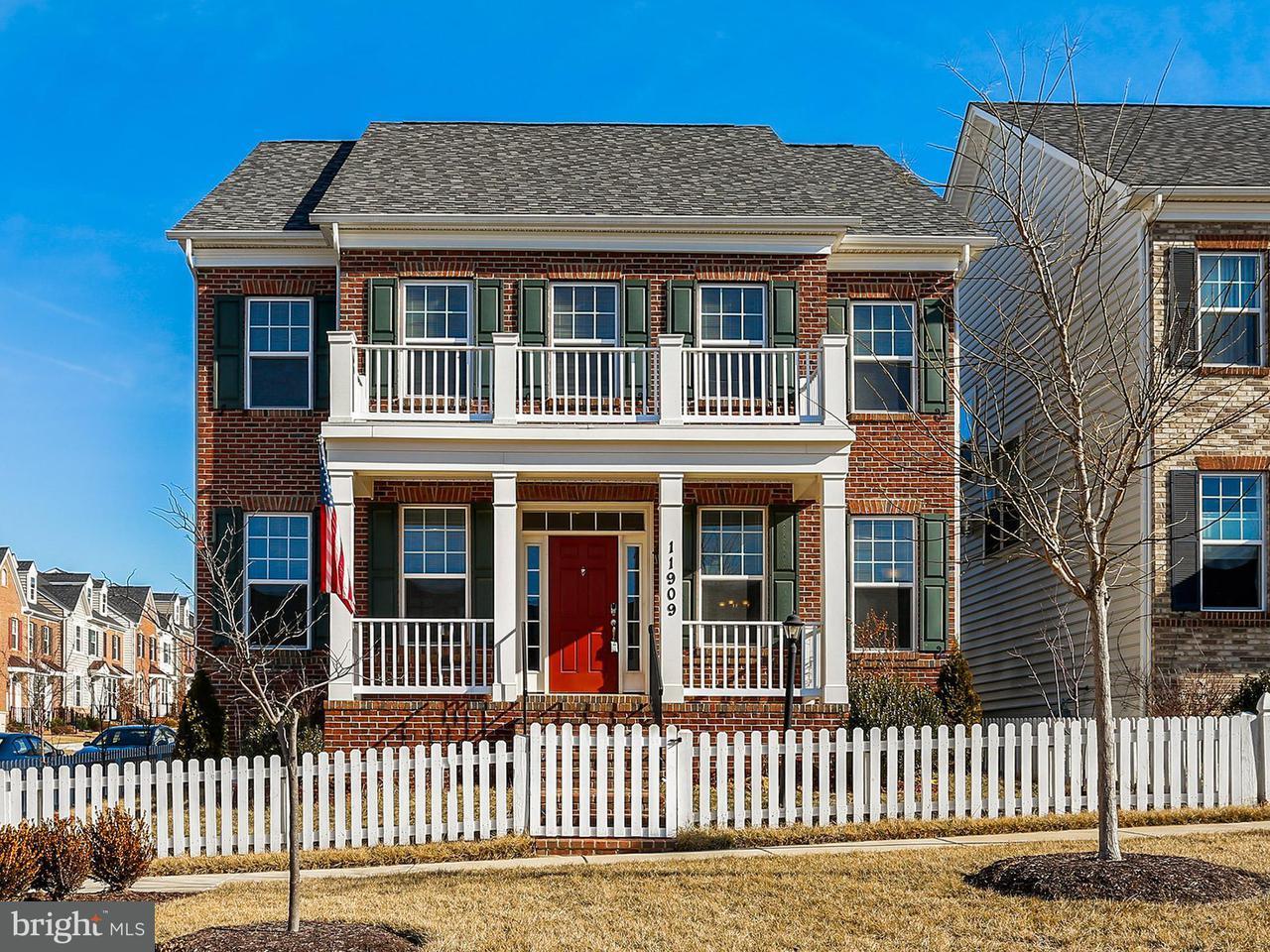 Casa Unifamiliar por un Venta en 11909 Chestnut Branch Way 11909 Chestnut Branch Way Clarksburg, Maryland 20871 Estados Unidos