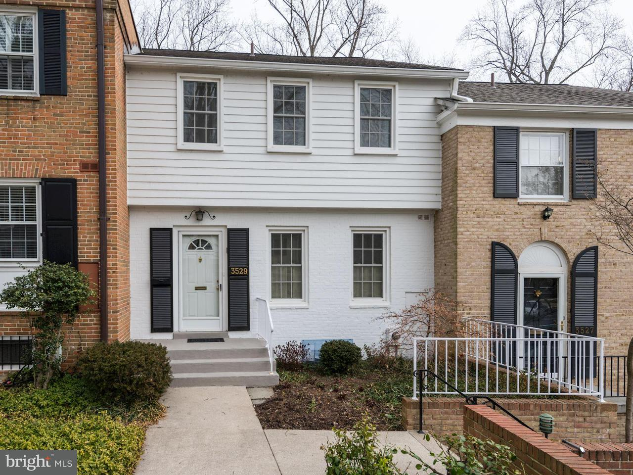 Townhouse for Sale at 3529 Hamlet Pl #504 3529 Hamlet Pl #504 Chevy Chase, Maryland 20815 United States