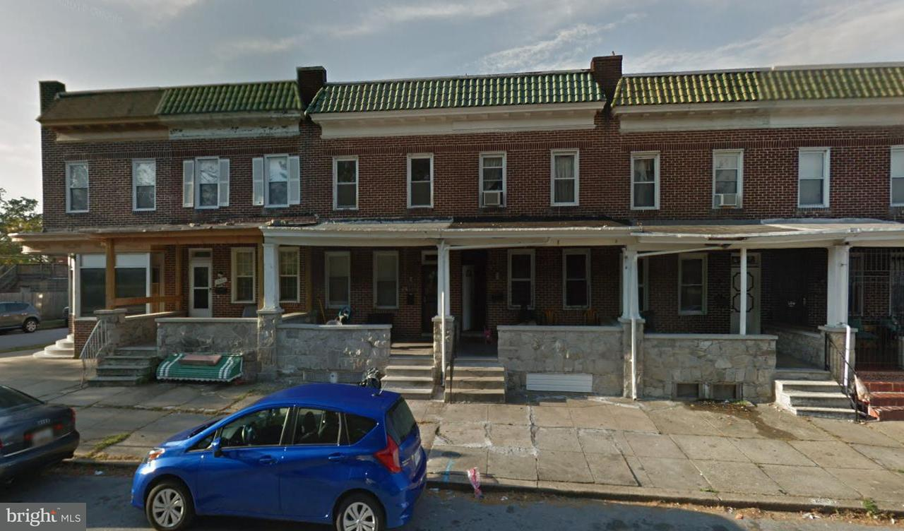 Single Family for Sale at 1357 Gorsuch Ave Baltimore, Maryland 21218 United States